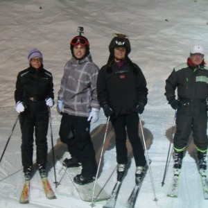 Night ski tour