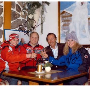Karen Putzer, Kalle Palander e Sarah Shleper