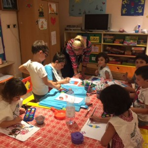 Attività per i bambini nel Mini Club
