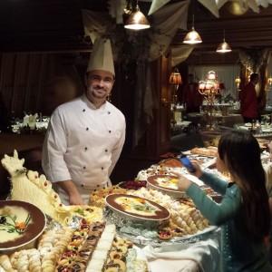 Buffet desserts Alpen Hotel Corona