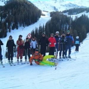 Ski tour itinerari sci in Val di Fassa Dolomites