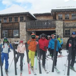 Alpine Ski Touring Alpe Lusia Moena