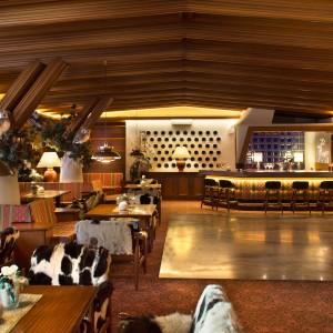 Hotel in stile tipico montagna