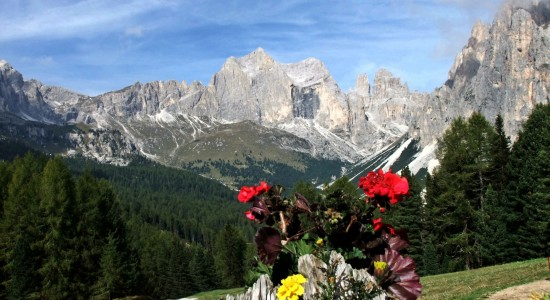 Summer activities in the Dolomites