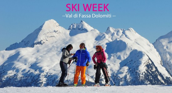 White weeks in the Dolomites!