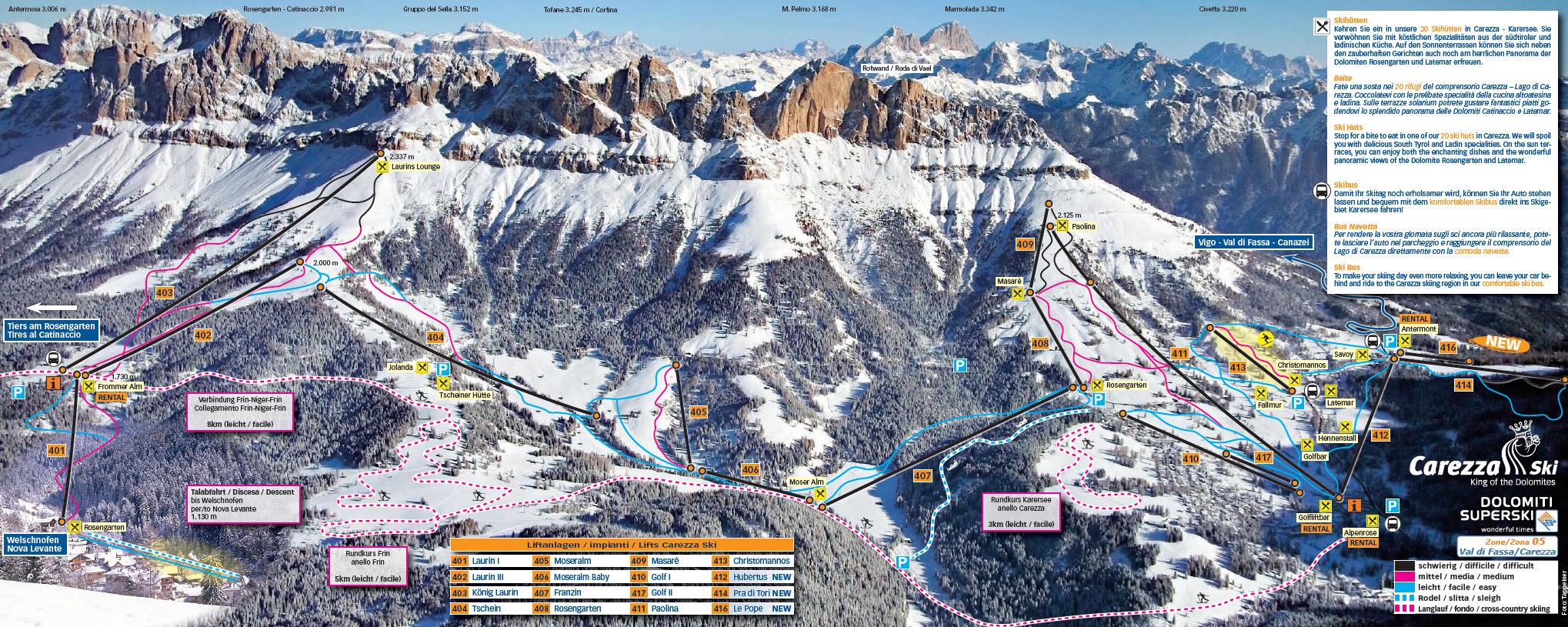 Mappa ski