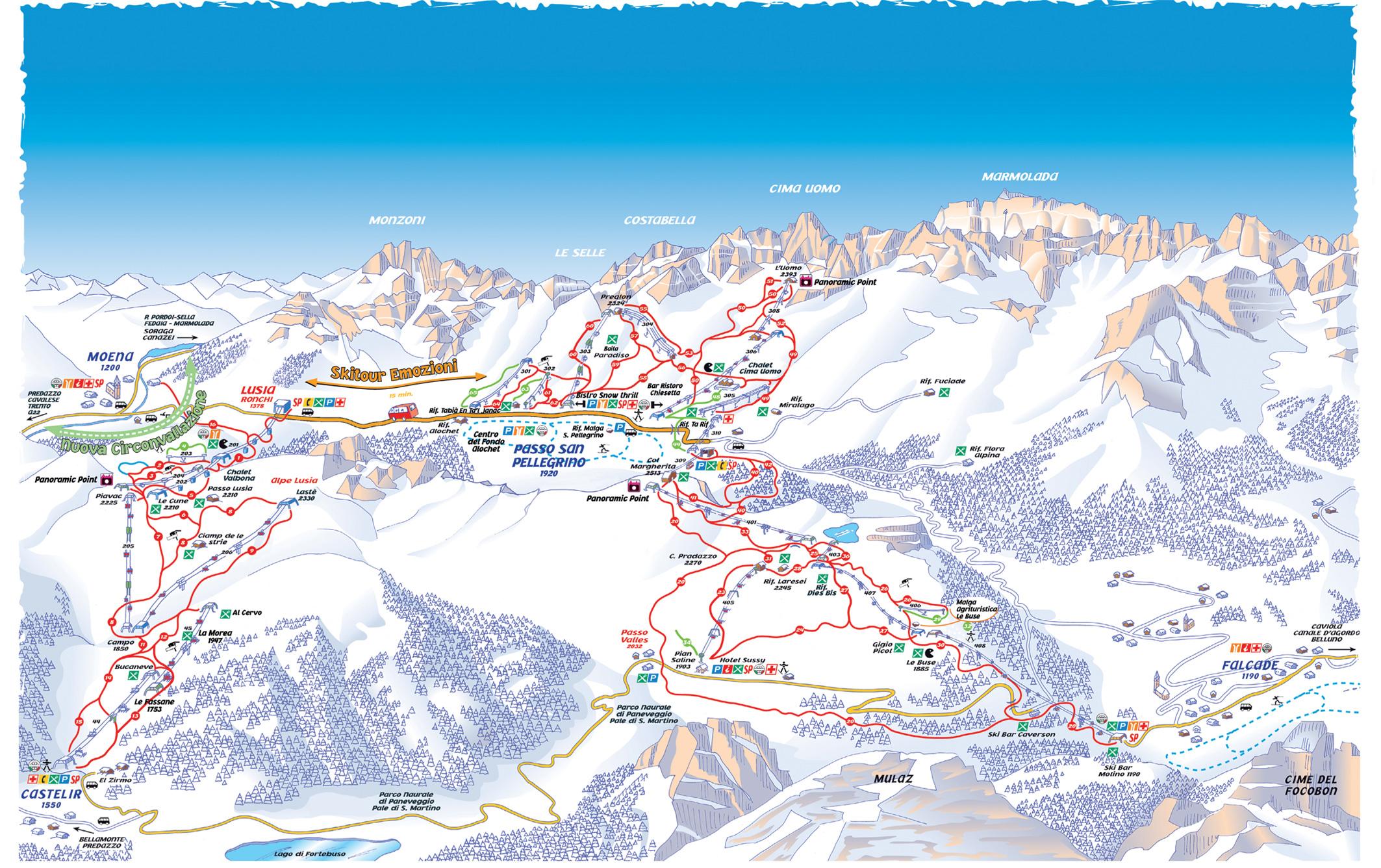 Cartina Trevalli